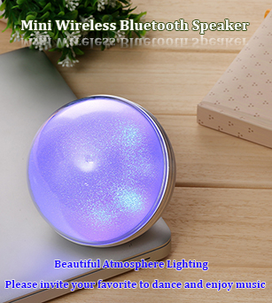 5W Top Rated Wireless Speakers with Atmosphere Lighting