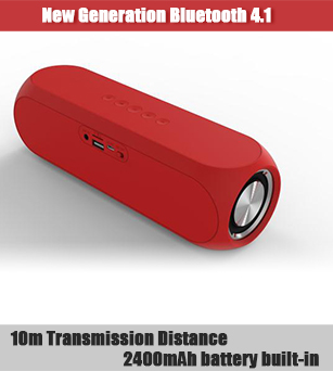 10W Bluetooth Stereo Speakers with 5 Hours Playing Time