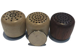 2W Wooden Cover Bluetooth Mini Wireless Speaker