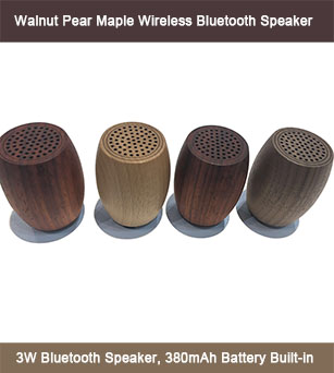 3W Pure Wooden Material Most Popular Bluetooth Speaker in Market