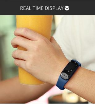 The accuracy of smart bracelet measurement.