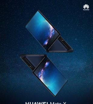 5G Flooding Screen Mobile phone-HUAWEI Mate X