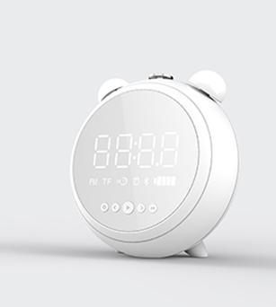 5W Bluetooth Speaker with Alarm Clock,EQ Model