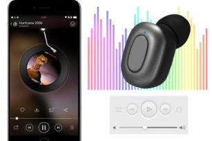 what is car wireless BT earphone ?