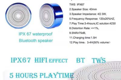 The top of our line product –Bluetooth speaker