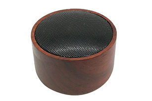 Wood TWS Mini Portable 5W Bluetooth Speaker with 750mAh