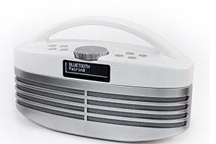 Retro Style DAB 10W  Wireless Bluetooth  Speaker with FM radio/LCD display