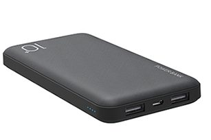 Promotion ABS 10,000mAh Power Bank  with Circuit Protection