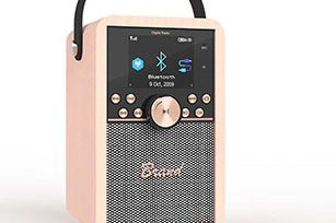Internet Radio Wooden Bluetooth Speaker with Aux/ TF/ USB/Internet Radio