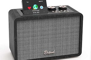 Wooden Internet Radio 20W Bluetooth Speaker with EQ/Bluetooth /Aux/ TF/ USB