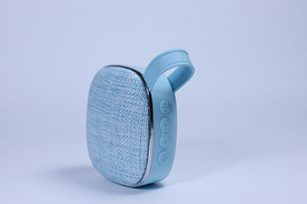 Promotional,Mini Cloth Portable 3W Mobile Phone Speaker with TF card,AUX