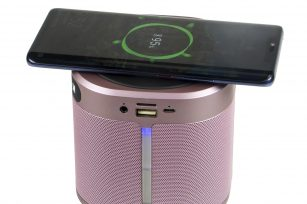 Look, The Bluetooth Speaker with wireless charge
